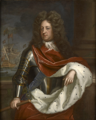 Portrait of Prince George of Denmark, Michael Dahl