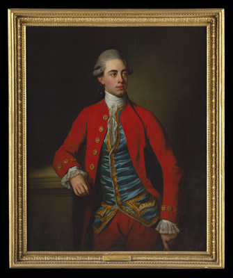 Portrait of George Augustus North, 3rd Earl of Guilford, 9th Baron North (1757-1802), Sir Nathaniel Dance-Holland RA MP, 1st Bart