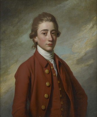 Portrait of a Young Man, Sir Nathaniel Dance-Holland RA MP, 1st Bart