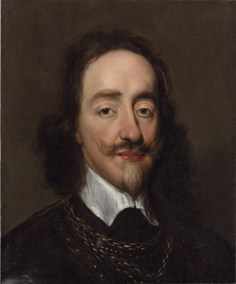 Portrait of King Charles I (1600-1649), William Dobson