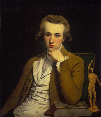 Portrait of an Artist, possibly a Self-Portrait, William Doughty