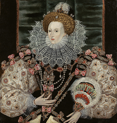 Portrait of Elizabeth I (1533-1603), The Armada Portrait, c.1600, George Gower, Manner of