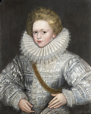 Portrait of a Boy in White, 16th Century English School