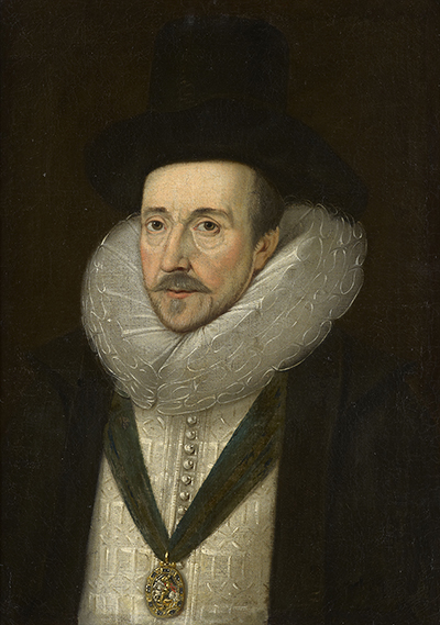 Portrait of Henry Howard, Earl of Northampton (1540-1614),  English School