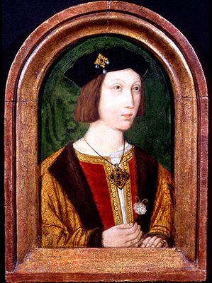 Portrait of Arthur Prince of Wales, c.1509,  English School