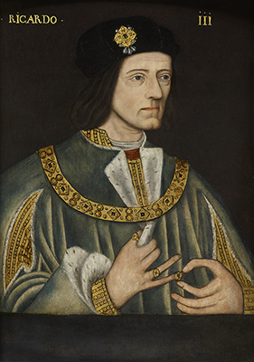 Portrait of King Richard III (1453 - 1485), Late 16th Century English School