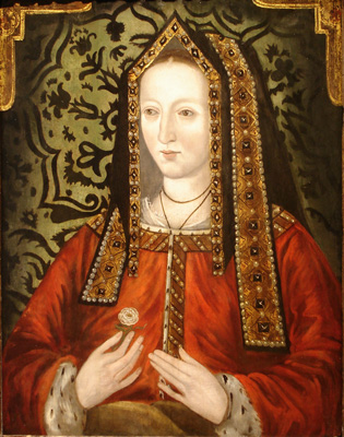Portrait of Elizabeth of York (1466-1503), 16th Century English School