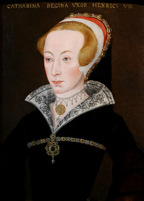 Portrait of Katherine Parr, Queen of England (1512-1548),  English Sixteenth Century School