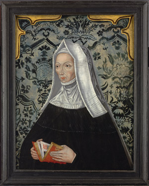 Portrait of Margaret Beaufort (1443-1509),  English School 17th Century