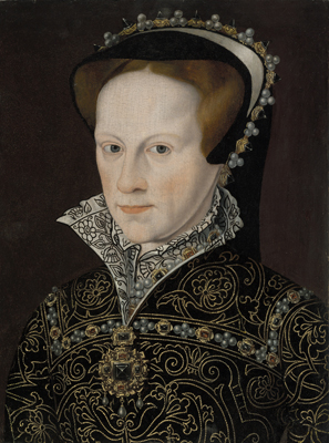 Portrait of Mary I (1516-1558), Queen of England, 16th Century English School