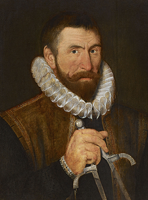 Portrait of Ralph Simons (Symons), Late 16th Century English School