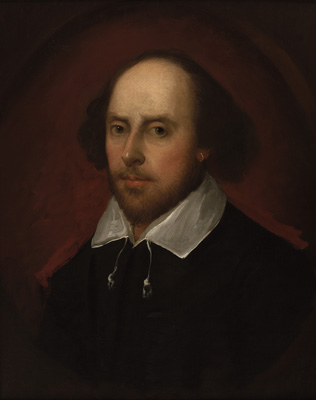 Portrait of William Shakespeare (1564-1616), After John Taylor