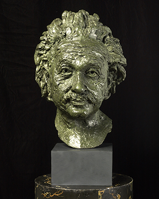 Portrait bust of Albert Einstein (1879-1955), Sir Jacob Epstein
