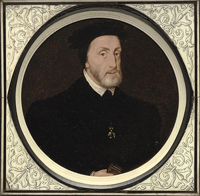 Portrait of Charles V, Holy Roman Emperor, King of Spain (1500-1558), Flemish School