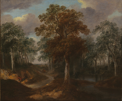 Cornard Wood, c.1740, Thomas Gainsborough RA