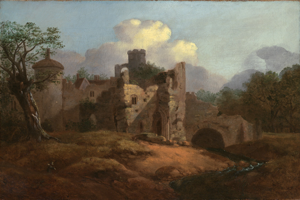 Landscape with a Ruined Castle, Thomas Gainsborough RA