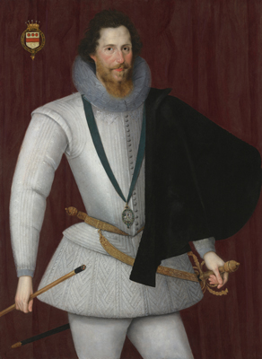 Portrait of Robert Devereux (1565-1601), 2nd Earl of Essex, Marcus Gheeraerts the Younger