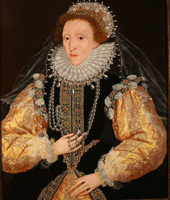 Queen Elizabeth 1 Jewelry Portrait of queen elizabeth i,