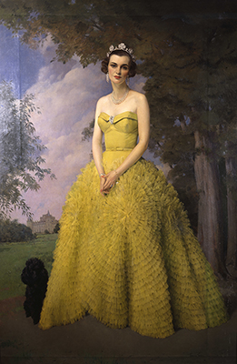 Portrait of Margaret, Duchess of Argyll (1912 - 1993), Sir Herbert James Gunn