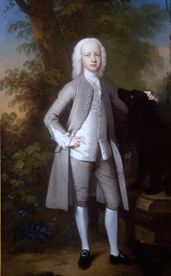 Portrait of Joseph Taylor Esq. (1733-1772) as a young man, Joseph Highmore