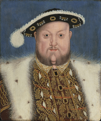 Portrait of King Henry VIII (1491–1547), mid-Sixteenth Century, Hans Holbein, Follower of