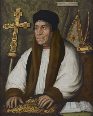 Portrait of William Warham, Archbishop of Canterbury (c.1450-1532), After Hans Holbein