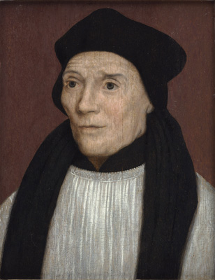 Portrait of John Fisher, Bishop of Rochester, Hans Holbein, Follower of