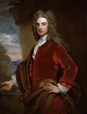 Portrait of The Rt Hon. Sir John Rushout 4th Bt PC (1684-1775), 1716, Sir Godfrey Kneller Bt.