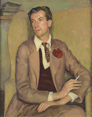 Portrait of Sir Cecil Beaton (1904-1980), Henry Lamb