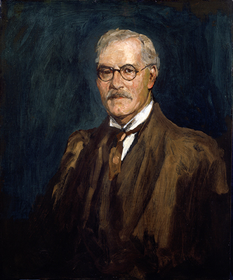 Portrait of James Ramsay Macdonald (1866-1937), 1937, Sir John Lavery
