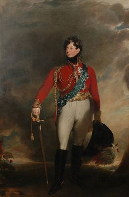 Portrait of George IV, Sir Thomas Lawrence PRA and Studio