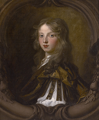 Portrait of a Young Boy, thought to be Thomas Betenson (bap. 1667), late 1670s, Sir Peter Lely