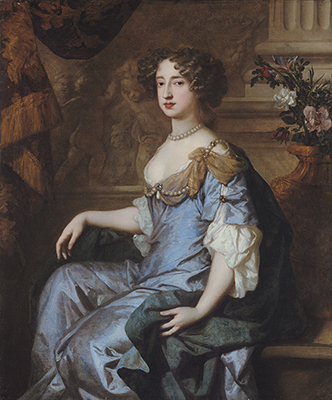 Portrait of Queen Mary II, when Princess of Orange, Sir Peter Lely