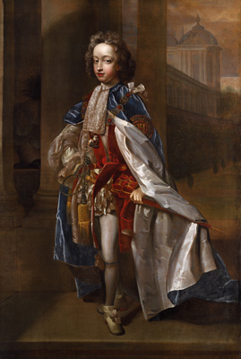 Portrait of Prince William, Duke of Gloucester (1689-1700), c.1700, Edmond Lilly