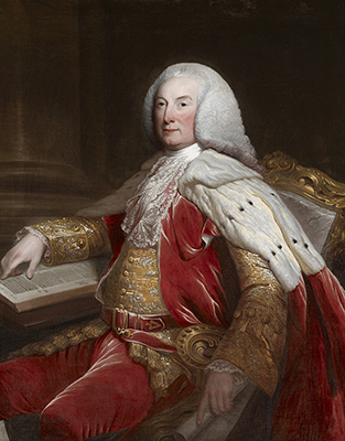 Portrait of William Murray, 1st Earl of Mansfield (1705 – 1793), c.1770, David Martin