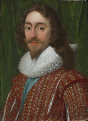 Portrait of Charles I (1600-1649), Attributed to Daniel Mytens