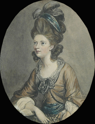 Portrait of Lady Elizabeth Hamilton, Countess of Derby (1753-1797), after Sir Joshua Reynolds P.R.A. (1723-1792), James Northcote RA