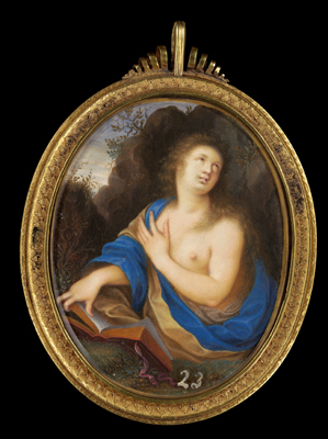 Miniature of the Penitent Magdalen, 1639-40, Isaac and Peter Oliver