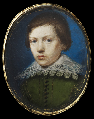 Portrait miniature of a Young Boy, c.1620, Peter Oliver