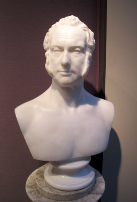 Marble Bust of Henry John Temple, 3rd Viscount Palmerston (1784-1865), Luigi Persico