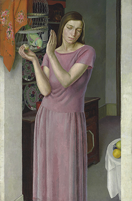 Girl with a Parrot, c.1925, Dod Procter
