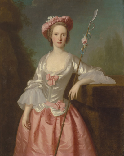 Portrait of a Lady as a Shepherdess, late 1740s/early 1750s, Allan Ramsay