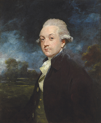 Portrait of William Wentworth Fitzwilliam (1748-1833), 2nd Earl Fitzwilliam in the peerage of Great Britain, and 4th Earl Fitzwilliam in the Peerage of Ireland, Sir Joshua Reynolds P.R.A.