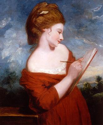 Philip Mould Historical Portraits Elizabeth Johnson Sir