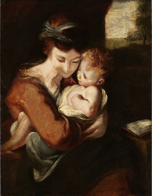 Virgin and Child, Sir Joshua Reynolds PRA