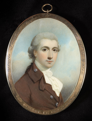 A portrait miniature of the Hon. Hercules Langford Taylor (Taylour) (1759-1790), Charles Robertson
