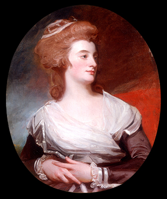 Portrait of Mary Benwell, Mrs Code (fl.1761–1800), George Romney