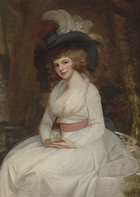 Portrait of a Lady, George Romney