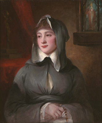 Portrait of Madame Larcena, in a Nun's Habit, George Romney
