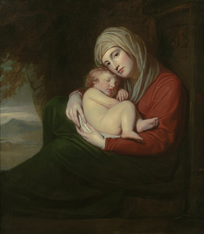 A Mother and Child, 1771, George Romney
